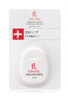 Expert Pharma Dental Floss with mint flavour