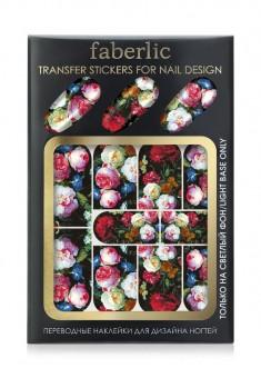 Nagu uzlīmes Ziemas ziedi  Transfer stickers for nail design