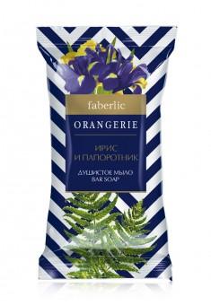 Душистое мыло Ирис и Папоротник марки Экстра серии ORANGERIE
