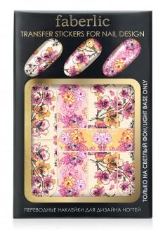 Переводные наклейки для дизайна ногтей  Transfer stickers for nail design Японский шёлк Артикул 738
