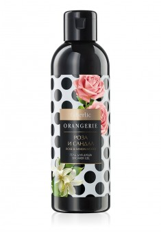 ROSE AND SANDALWOOD SHOWER GEL ORANGERIE COLLECTION