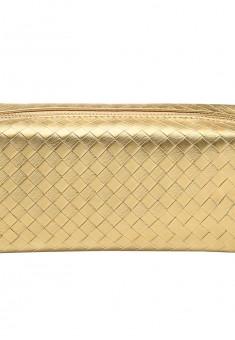 Կանացի հարդարապանակ ոսկեգույն Bottega Veneta style