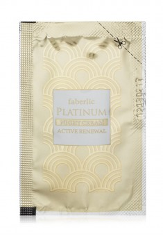 Восстанавливающий ночной крем серии PLATINUM пробник