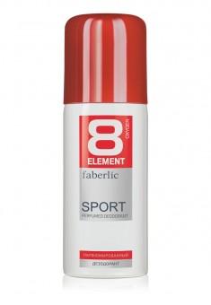 Парфюмированный дезодорант в аэрозольной упаковке для мужчин 8 ELEMENT SPORT 100 мл