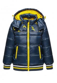 Куртка утепленная для мальчика цвет чернильный