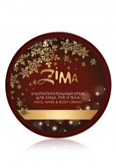 Ультрапитательный крем для лица рук и тела серии ZIMA