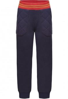 146B3202 Trikotāžas bikses zēnam piesātināti zilā krāsā