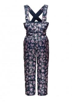 Утепленные брюки для девочки цвет ночной синий