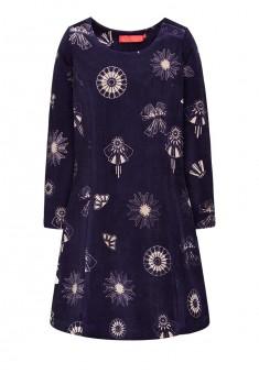 Платье для девочки цвет ночной синий