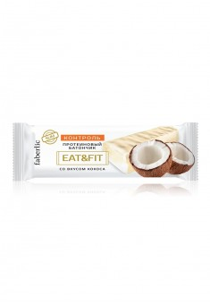 Eat  Fit Protein Bar with coconut flavor