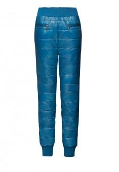 Утеплённые брюки цвет морская волна