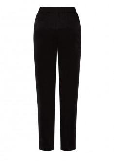 Трикотажные брюки цвет чёрный