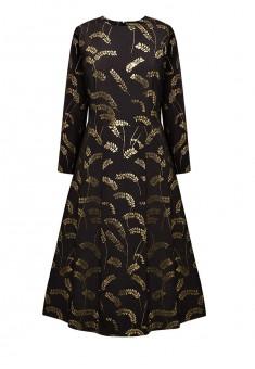 Платье с рукавом 34 цвет чёрный