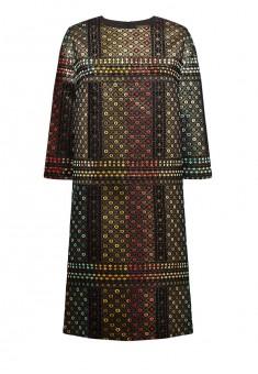 Платье с рукавом 34 цвет золотой