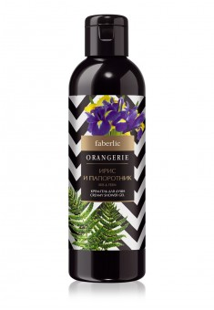 Orangerie Iris and Fern Shower CreamGel