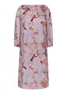 Платье с рукавом 34 для женщины цвет лиловый