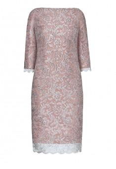 Платье с рукавом 34 для женщины цвет темнолиловый