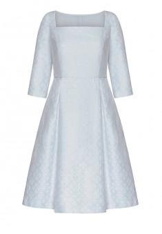 Платье с рукавом 34 для женщины цвет сероголубой