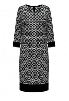 Платье с рукавом 34 для женщины цвет черный
