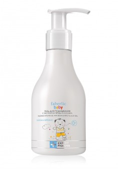 Baby washing intimate gel with tickseed extract and aloe vera
