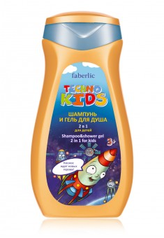 Techno Kids 2in1 Shampoo  Shower Gel