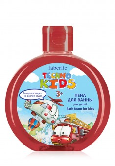 Techno Kids Bath Foam