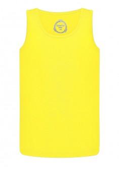 Tрикотажная майка для мальчика цвет лимонный