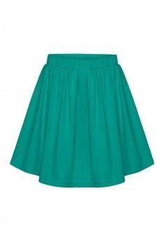 Трикотажная юбка для девочки цвет морской