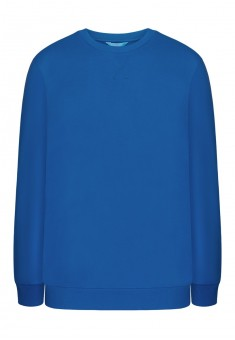 Jersey pullover for men bright blue