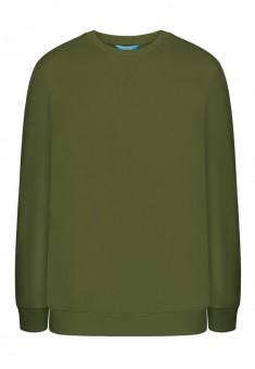 Jersey pullover for men khaki