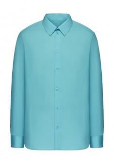 Рубашка мужская цвет голубой