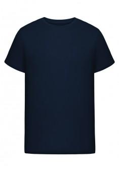 Трикотажная футболка для мужчины цвет синий