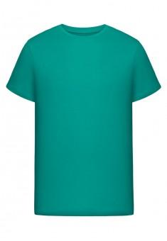 Трикотажная футболка для мужчины цвет морской