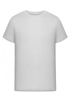 Трикотажная футболка для мужчины цвет белый