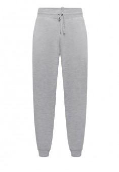 Трикотажные брюки для мужчины цвет серый меланж
