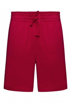 Knitted shorts for men red