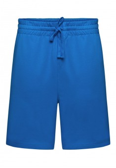 Knitted shorts for men bright blue