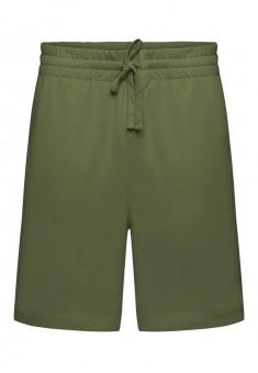 Трикотажные шорты для мужчины цвет хаки