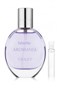 Faberlic AROMANIA VIOLET Eau de Toilette For Her test sample