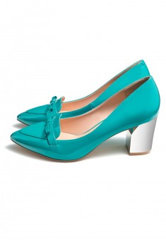 Elegance Shoes sky blue