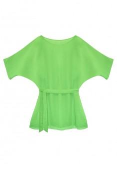 Пляжное платье Карибиана цвет зеленый
