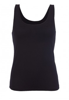 Top with an integrated bra black