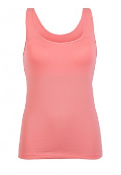 Top with an integrated bra coral