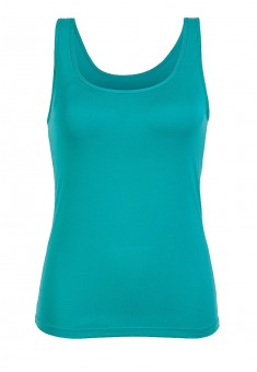Top with an integrated bra marine
