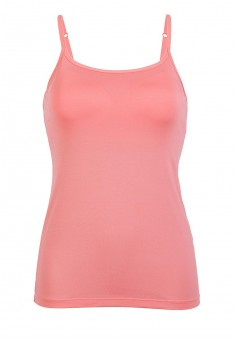 Strappy top with an integrated bra coral