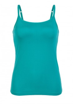 Strappy top with an integrated bra marine