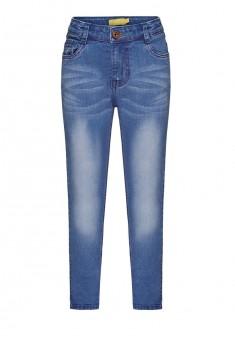 Узкие джинсы для девочки цвет голубой