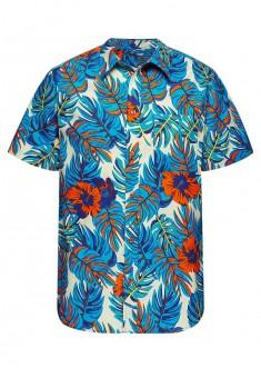 Гавайская рубашка для мужчины мультицвет