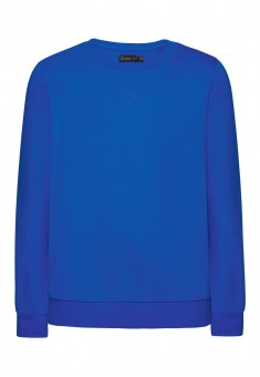 Трикотажный пуловер для мальчика цвет яркосиний