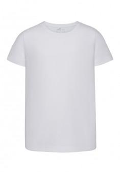 117B2903 Trikotāžas Tkrekls zēnam baltā krāsā ar īsām piedurknēm
